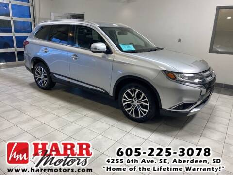 2018 Mitsubishi Outlander for sale at Harr's Redfield Ford in Redfield SD