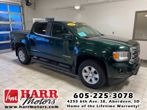 2016 GMC Canyon for sale at Harr's Redfield Ford in Redfield SD