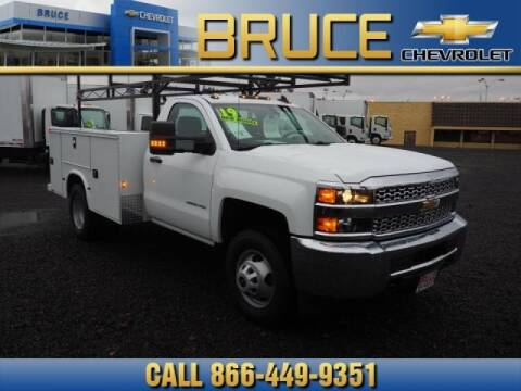 2019 Chevrolet Silverado 3500HD CC for sale at Medium Duty Trucks at Bruce Chevrolet in Hillsboro OR