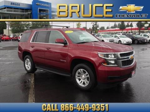 2016 Chevrolet Tahoe for sale at Medium Duty Trucks at Bruce Chevrolet in Hillsboro OR