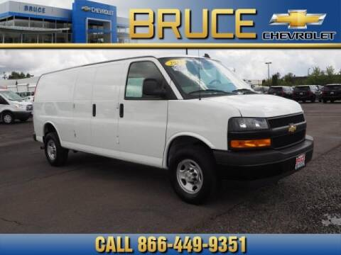 2018 Chevrolet Express Cargo for sale at Medium Duty Trucks at Bruce Chevrolet in Hillsboro OR