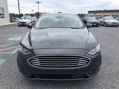 2020 Ford Fusion Hybrid for sale at King Motors featuring Chris Ridenour in Martinsburg WV