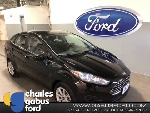 2018 Ford Fiesta SE for sale at CHARLES GABUS FORD in Des Moines IA