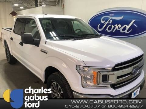 2018 Ford F-150 XLT for sale at CHARLES GABUS FORD in Des Moines IA