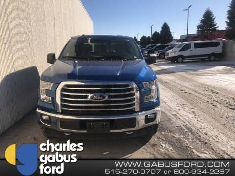 2017 Ford F-150 XLT for sale at CHARLES GABUS FORD in Des Moines IA