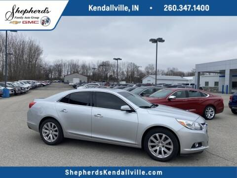2016 Chevrolet Malibu Limited LTZ for sale at Shepherd's Buick-GMC in Kendallville IN