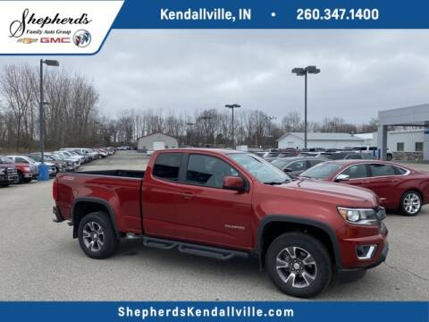 2016 Chevrolet Colorado Z71 for sale at Shepherd's Buick-GMC in Kendallville IN