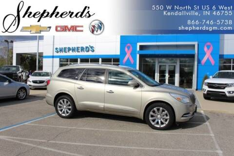 2016 Buick Enclave Premium for sale at Shepherd's Buick-GMC in Kendallville IN