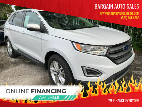 2016 Ford Edge for sale at Bargain Auto Sales in West Palm Beach FL