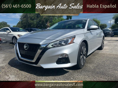 2019 Nissan Altima for sale at Bargain Auto Sales in West Palm Beach FL