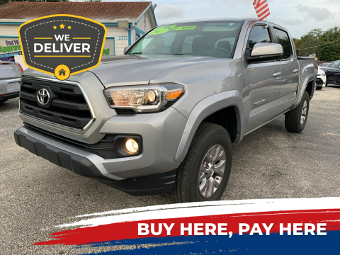2017 Toyota Tacoma for sale at Bargain Auto Sales in West Palm Beach FL