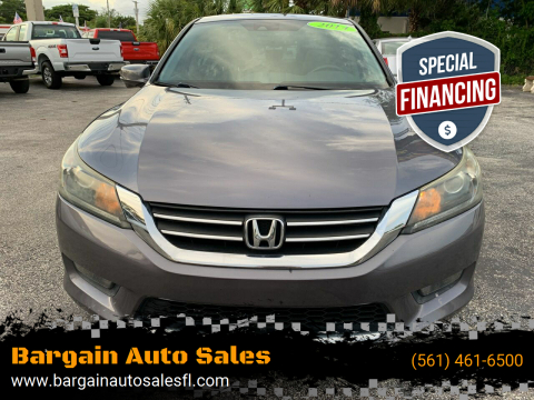 2014 Honda Accord for sale at Bargain Auto Sales in West Palm Beach FL