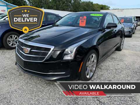 2015 Cadillac ATS for sale at Bargain Auto Sales in West Palm Beach FL