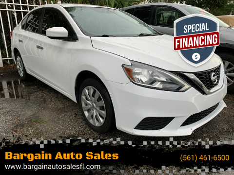 2016 Nissan Sentra for sale at Bargain Auto Sales in West Palm Beach FL