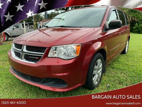 2015 Dodge Grand Caravan for sale at Bargain Auto Sales in West Palm Beach FL