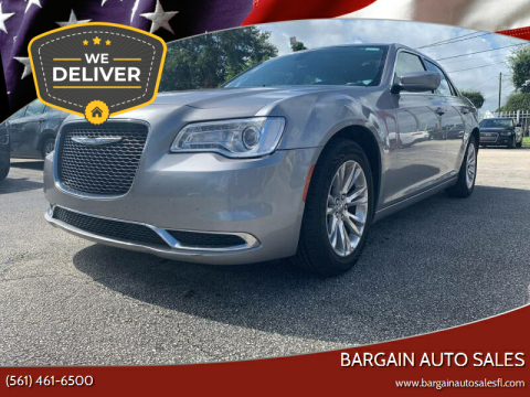 2018 Chrysler 300 for sale at Bargain Auto Sales in West Palm Beach FL
