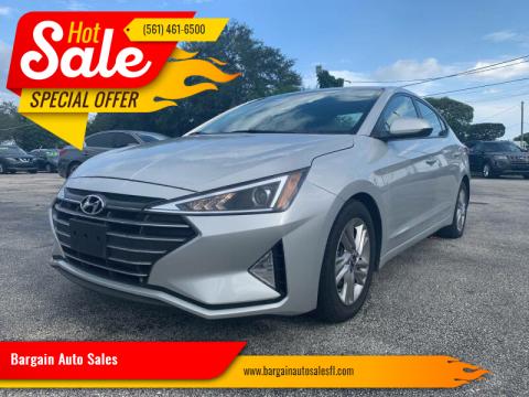 2020 Hyundai Elantra for sale at Bargain Auto Sales in West Palm Beach FL