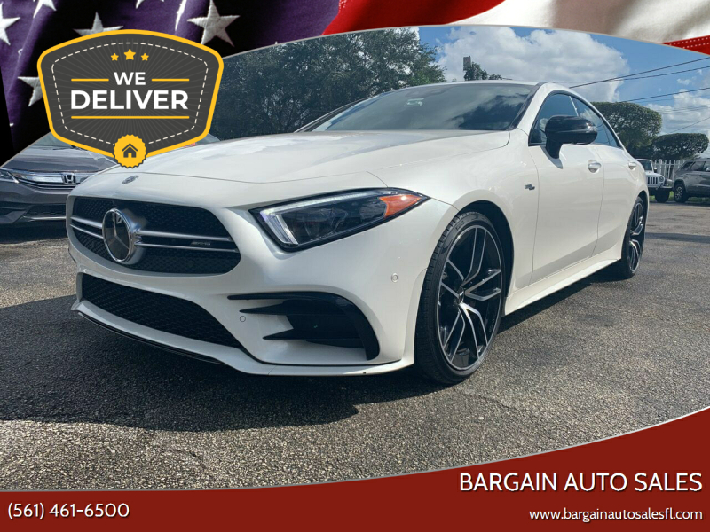 2019 Mercedes-Benz CLS for sale at Bargain Auto Sales in West Palm Beach FL