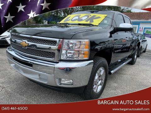 2012 Chevrolet Silverado 1500 for sale at Bargain Auto Sales in West Palm Beach FL