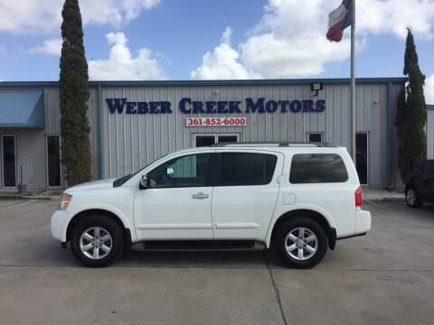 2012 Nissan Armada SV for sale at Weber Creek Motors in Corpus Christi TX