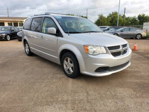2012 Dodge Grand Caravan for sale at Zora Motors in Houston TX
