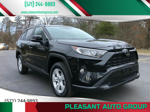 2019 Toyota RAV4 XLE for sale at Pleasant Auto Group in Chantilly VA