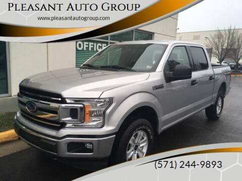 2019 Ford F-150 XLT for sale at Pleasant Auto Group in Chantilly VA