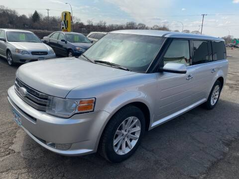 2012 Ford Flex for sale at Auto Tech Car Sales and Leasing in Saint Paul MN