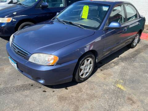 2003 Kia Spectra for sale at Auto Tech Car Sales and Leasing in Saint Paul MN