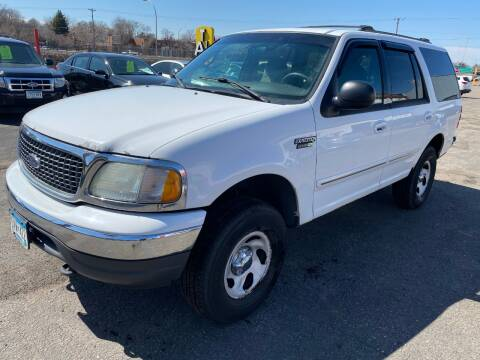 2002 Ford Expedition for sale at Auto Tech Car Sales and Leasing in Saint Paul MN