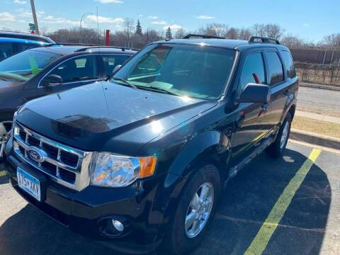 2010 Ford Escape for sale at Auto Tech Car Sales and Leasing in Saint Paul MN