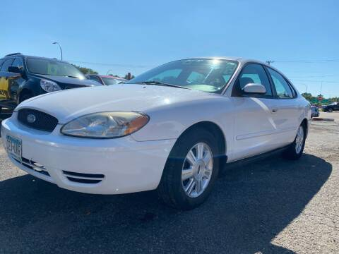 2006 Ford Taurus for sale at Auto Tech Car Sales and Leasing in Saint Paul MN