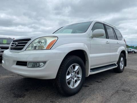 2007 Lexus GX 470 for sale at Auto Tech Car Sales and Leasing in Saint Paul MN