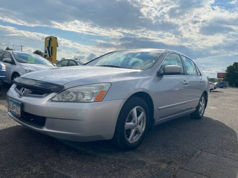 2003 Honda Accord for sale at Auto Tech Car Sales and Leasing in Saint Paul MN