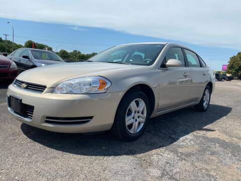 2008 Chevrolet Impala for sale at Auto Tech Car Sales and Leasing in Saint Paul MN