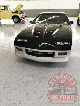 1989 Chevrolet Camaro for sale at Classics and Beyond Auto Gallery in Wayne MI