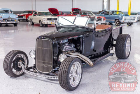 1932 Ford Roadster for sale at Classics and Beyond Auto Gallery in Wayne MI