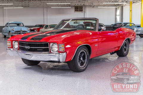 1971 Chevrolet Chevelle for sale at Classics and Beyond Auto Gallery in Wayne MI