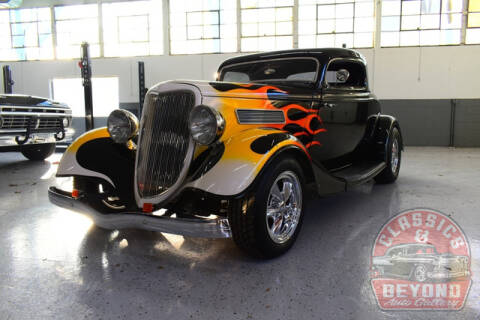 1934 Ford Coupe for sale at Classics and Beyond Auto Gallery in Wayne MI
