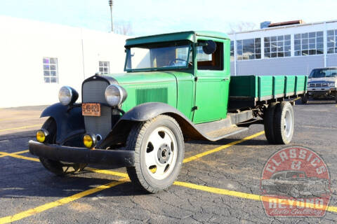 1931 Chevrolet Stake Bed Pickup for sale at Classics and Beyond Auto Gallery in Wayne MI