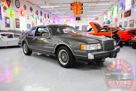 1990 Lincoln Mark VII LSC for sale at Classics and Beyond Auto Gallery in Wayne MI