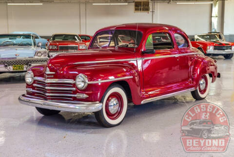 1947 Plymouth De Luxe for sale at Classics and Beyond Auto Gallery in Wayne MI