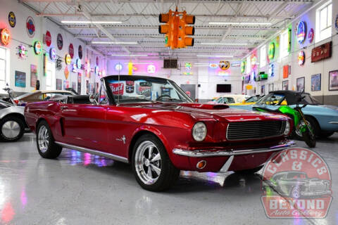1966 Ford Mustang for sale at Classics and Beyond Auto Gallery in Wayne MI