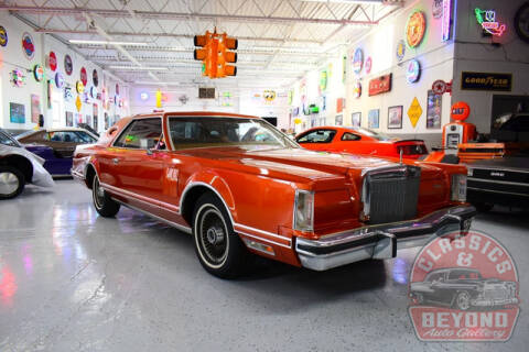 1977 Lincoln Mark V for sale at Classics and Beyond Auto Gallery in Wayne MI