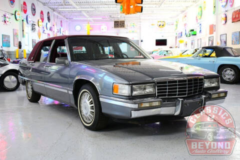 1993 Cadillac DeVille for sale at Classics and Beyond Auto Gallery in Wayne MI