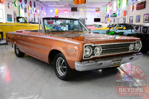 1967 Plymouth Belvedere for sale at Classics and Beyond Auto Gallery in Wayne MI