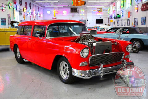 1955 Chevrolet Wagon for sale at Classics and Beyond Auto Gallery in Wayne MI