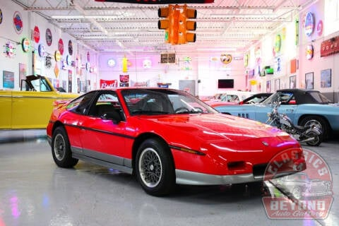 1986 Pontiac Fiero for sale at Classics and Beyond Auto Gallery in Wayne MI