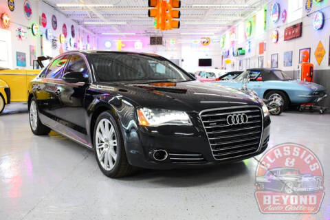 2012 Audi A8 L for sale at Classics and Beyond Auto Gallery in Wayne MI