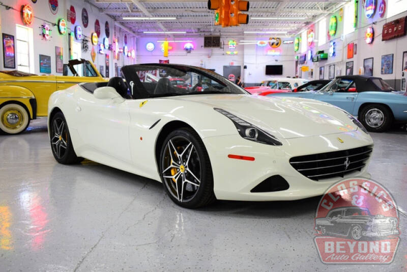2016 Ferrari California T for sale at Classics and Beyond Auto Gallery in Wayne MI